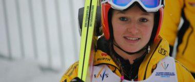 Katharina Althaus sews protective masks for medical stuff