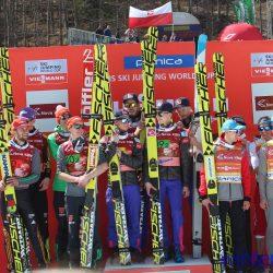 Podium Team Competition Planica