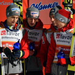 Team Competition Podium VIkersund