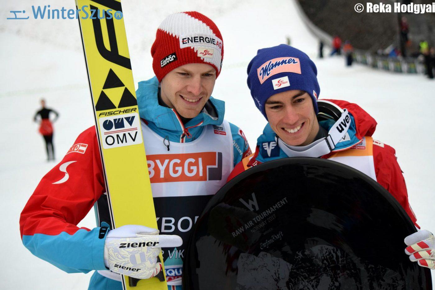 Michael Hayböck, Stefan Kraft