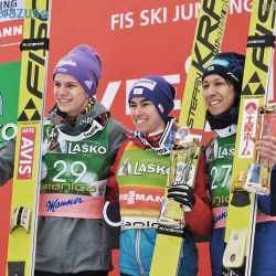 Planica Sunday Podium