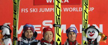PŚ w Wiśle: Junshiro Kobayashi sensacyjnym zwycięzcą, Stoch na podium!
