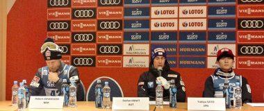 Wypowiedzi Krafta, Johanssona i Sato z konferencji prasowej