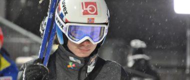 Marius Lindvik z najlepszym skokiem przed mixtem