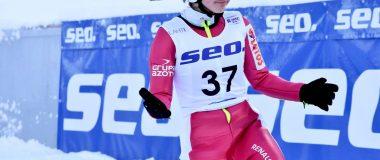 PŚ Pań w Lillehammer: Seria próbna dla Lundby, Rajda z rekordem życiowym