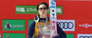 WC in Bad Mitterndorf: Ryoyu Kobayashi best in the quali