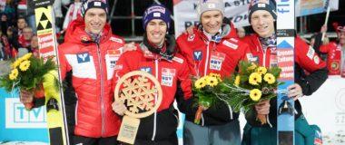 PŚ Zakopane: Austriacy wygrywają, Polacy na drugim miejscu