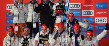 MŚ Oberstdorf: Niemcy z czwartym mistrzostwem drużyn mieszanych