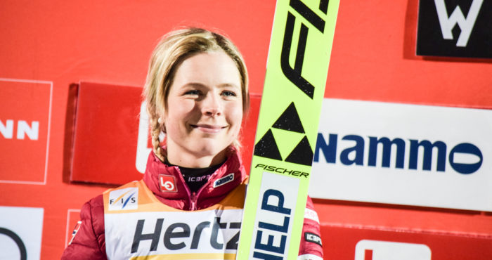 WCS: Maren Lundby wins historic competition in Oberstdorf