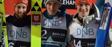 RAW AIR in Lillehammer: Peter Prevc wins