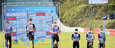 LPK Klingenthal: Fettner wygrywa konkurs i cały cykl; Wolny na podium