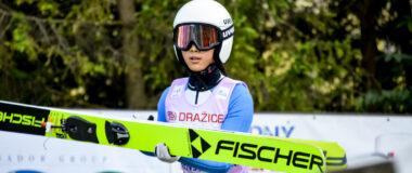 FIS Cup pań Ljubno: Seria próbna dla Peng