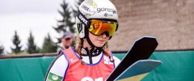 Alpen Cup: Nika Prevc najlepsza w serii próbnej